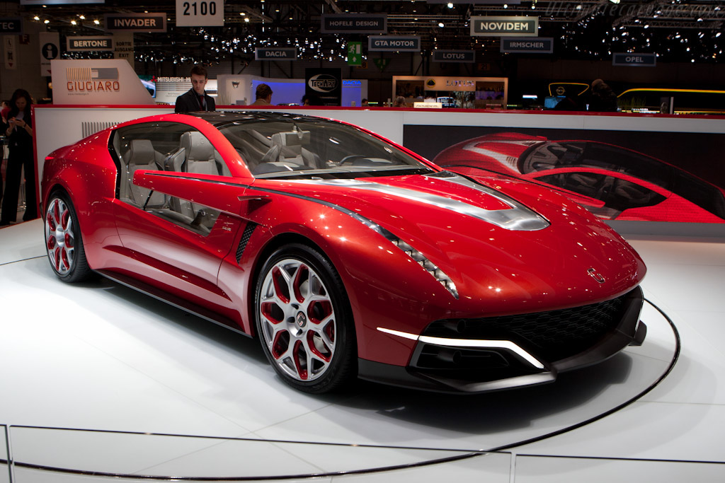 2012 Italdesign Brivido Images Specifications And Information