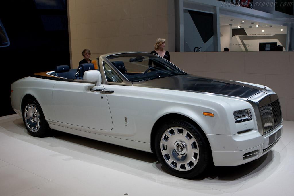 Rolls-Royce Phantom Series II Drophead Coupe    - 2012 Geneva International Motor Show