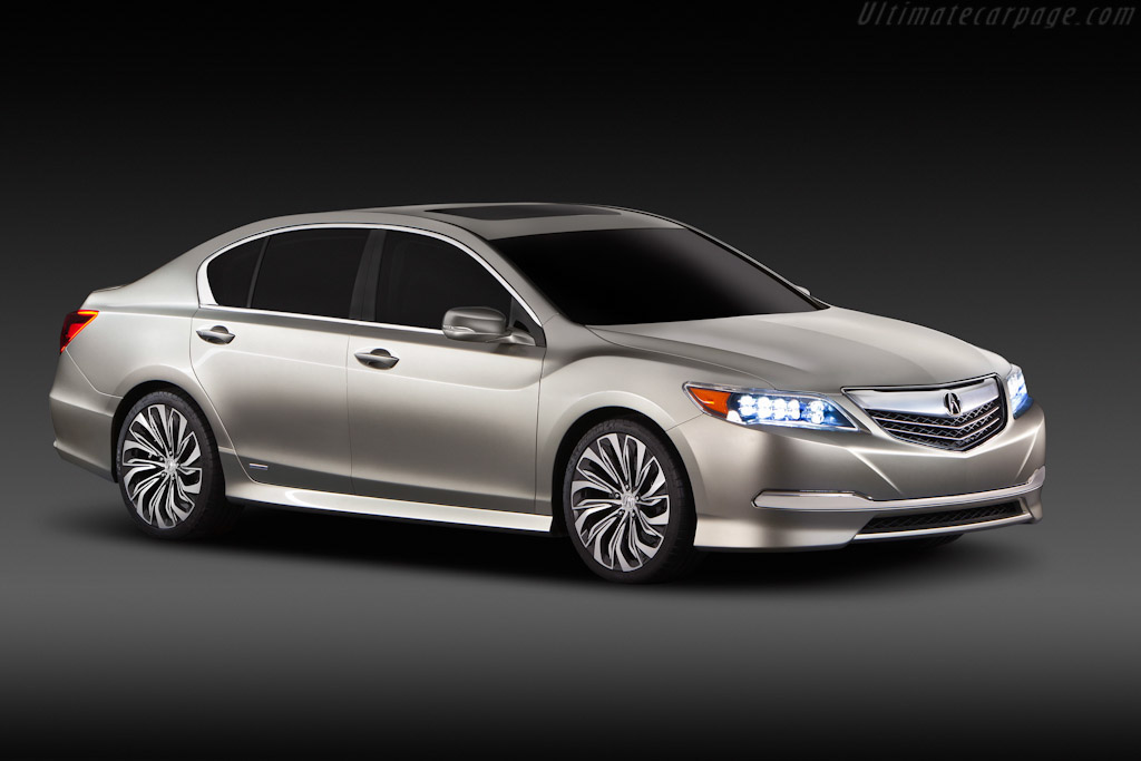Click here to open the Acura RLX Concept gallery