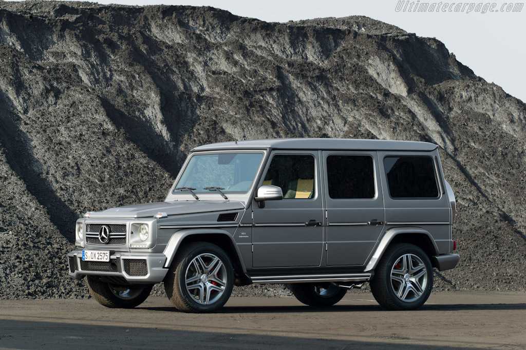 Click here to open the Mercedes-Benz G 63 AMG gallery