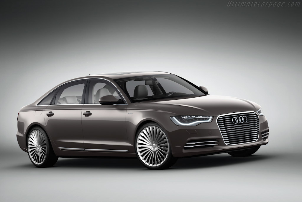 Click here to open the Audi A6 L e-tron Concept gallery