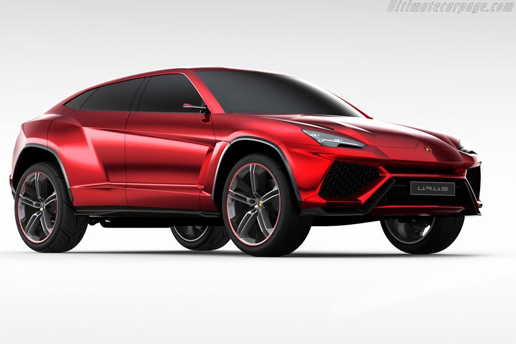 Click here to open the Lamborghini Urus Concept gallery