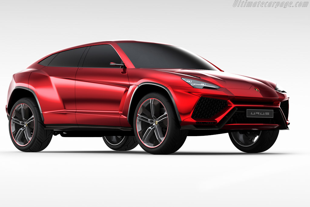 Click here to open the Lamborghini Urus Concept gallery