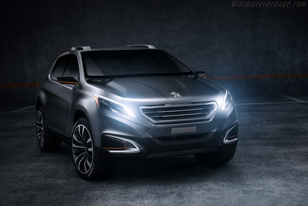Click here to open the Peugeot Urban Crossover Concept gallery