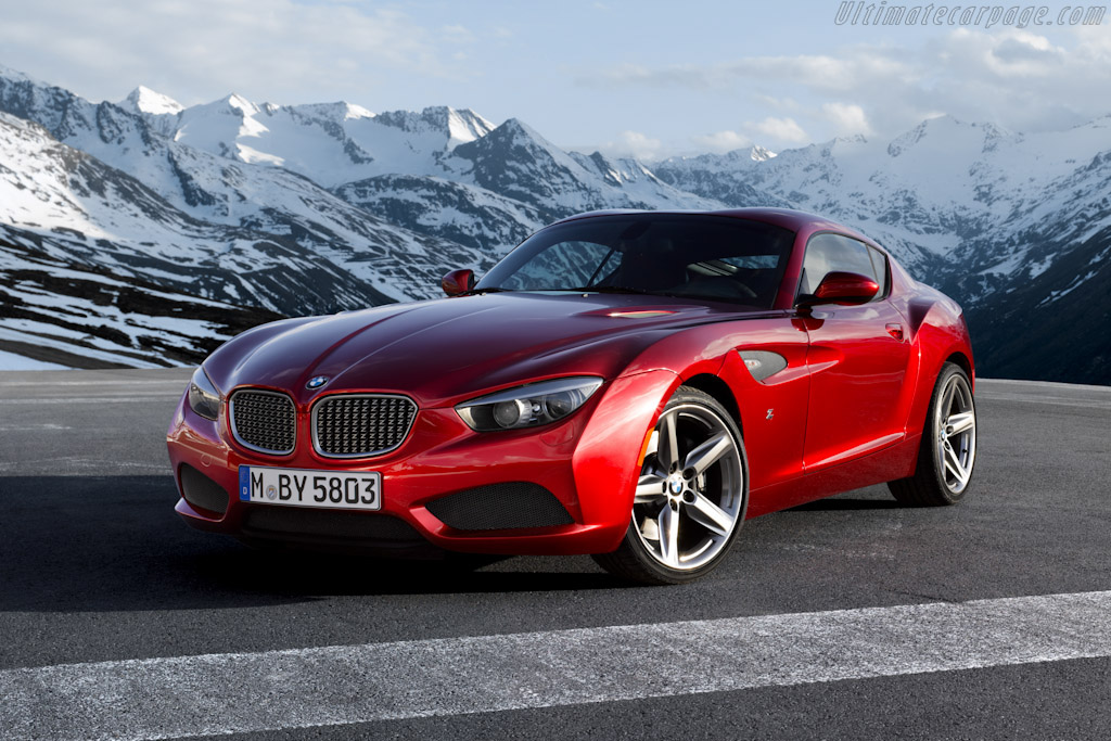 Click here to open the BMW Zagato Coupé gallery