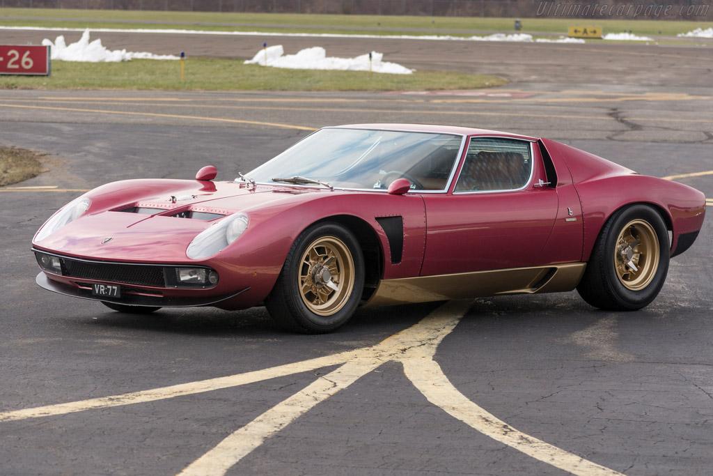 1972 Lamborghini Miura P400 Sv J Images Specifications And