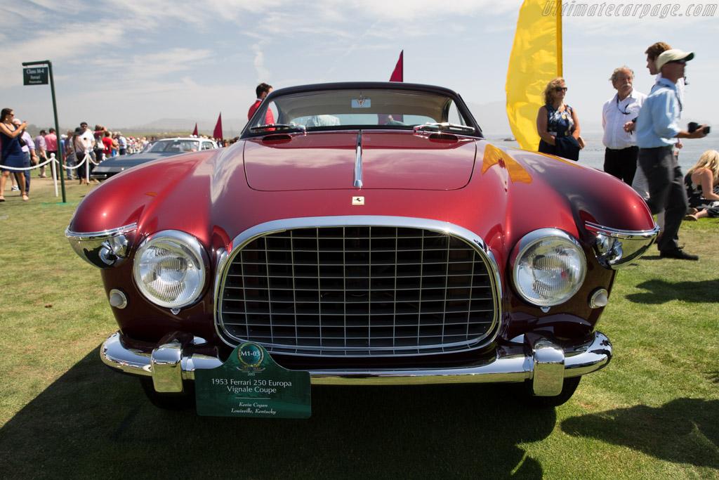 Ferrari 250 Europa Vignale Coupe - Chassis: 0295EU   - 2015 Pebble Beach Concours d'Elegance