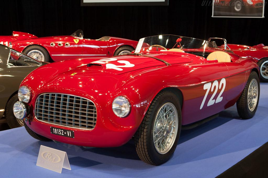 Ferrari 166 Fontana Spyder Corsa - Chassis: 012I   - 2012 Monaco Historic Grand Prix
