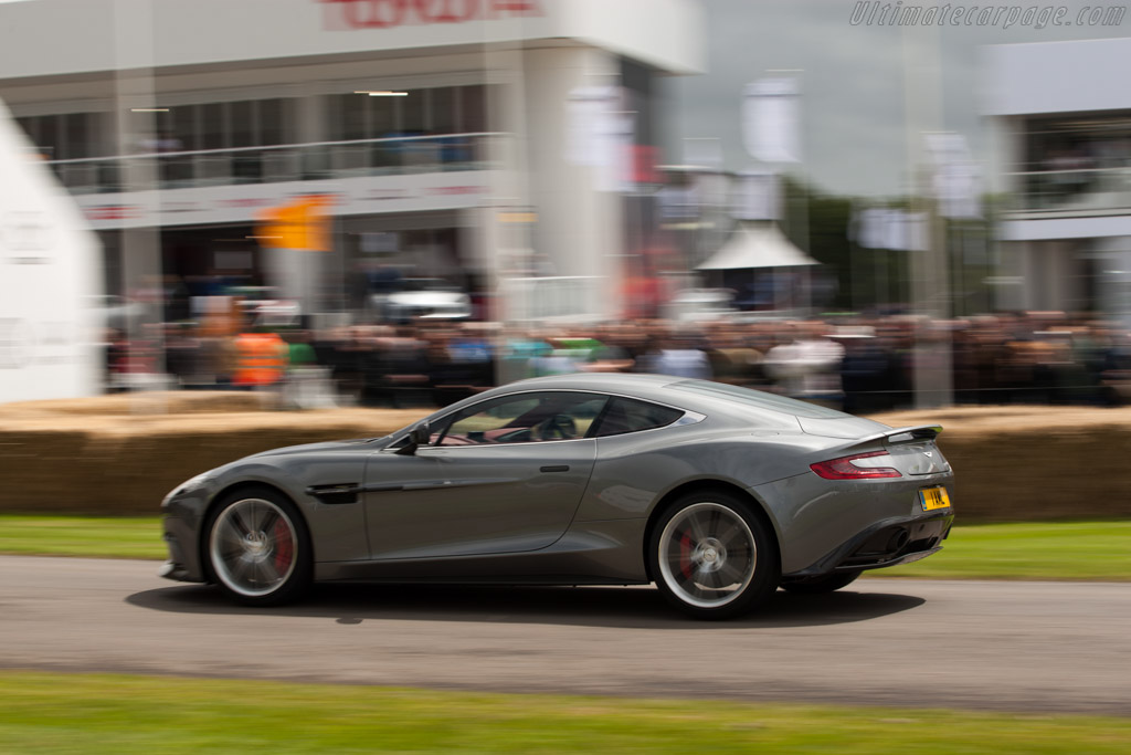 Aston Martin Vanquish    - 2012 Goodwood Festival of Speed