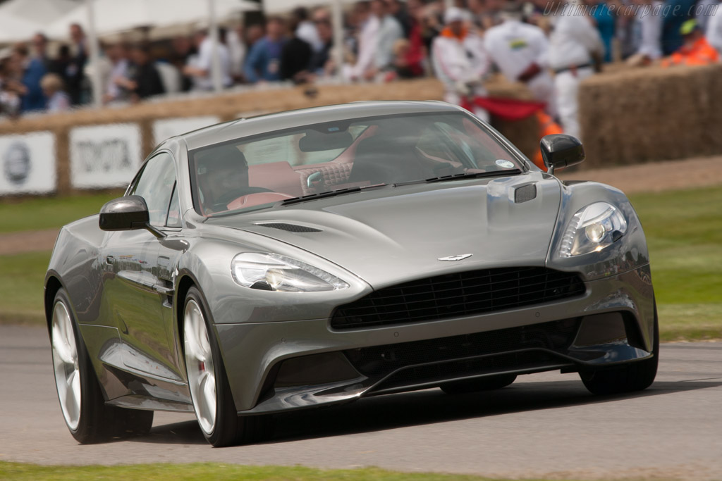 Aston Martin Vanquish    - 2012 Goodwood Festival of Speed