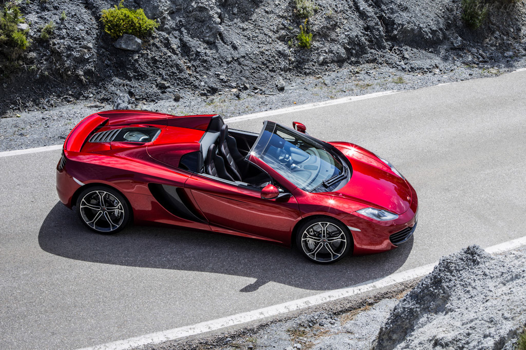 Click here to open the McLaren MP4-12C Spider gallery