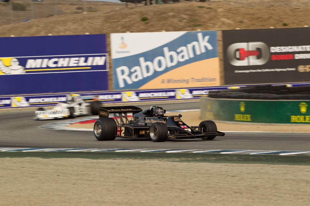 Lotus 77 Cosworth - Chassis: JPS11  - 2016 Monterey Motorsports Reunion