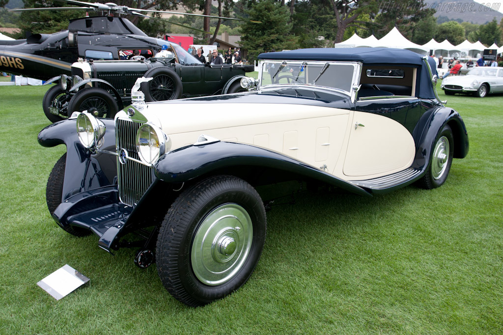 Delage D8 SS Fernandez & Darrin Cabriolet - Chassis: 38227   - 2011 The Quail, a Motorsports Gathering