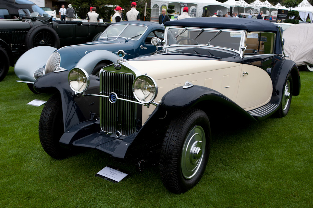 Click here to open the Delage D8 SS Fernandez & Darrin Cabriolet gallery