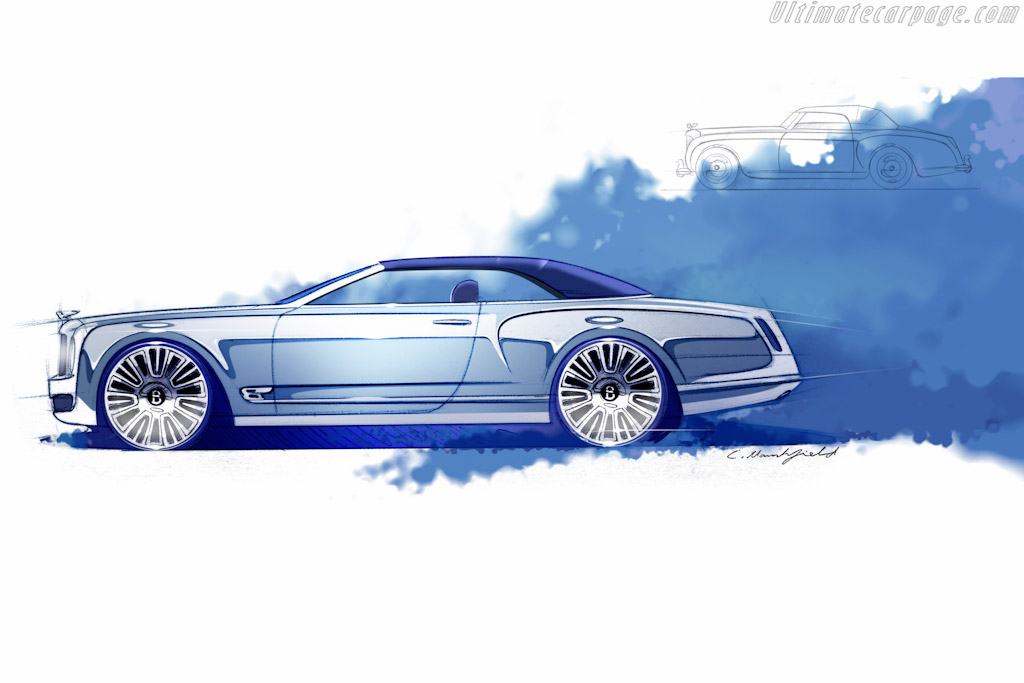 Bentley Mulsanne Convertible Concept