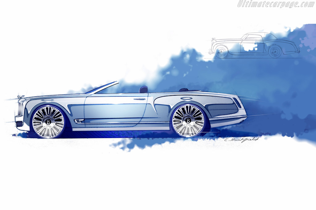 Click here to open the Bentley Mulsanne Convertible Concept gallery
