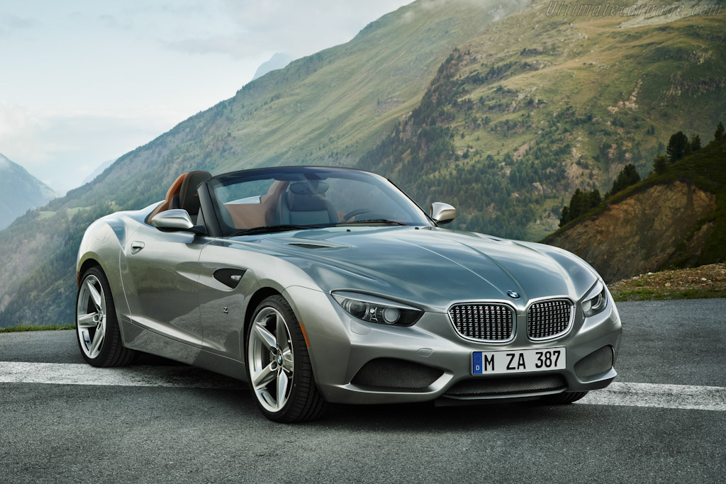 Click here to open the BMW Zagato Roadster gallery
