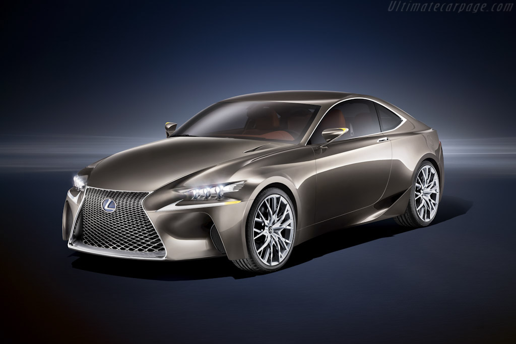 Click here to open the Lexus LF-CC Concept gallery