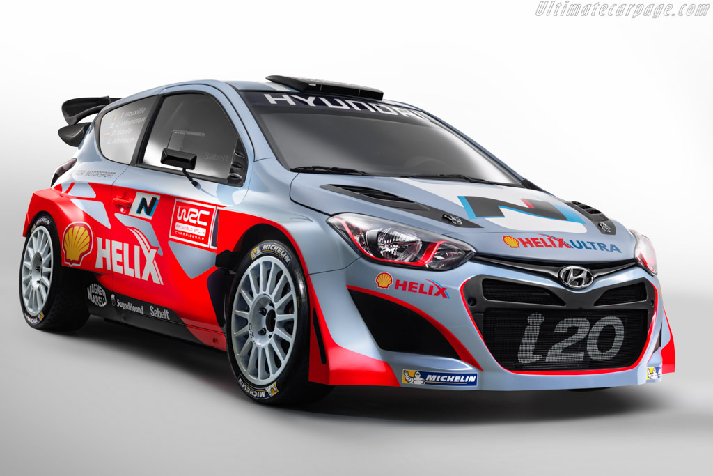 Click here to open the Hyundai i20 WRC gallery