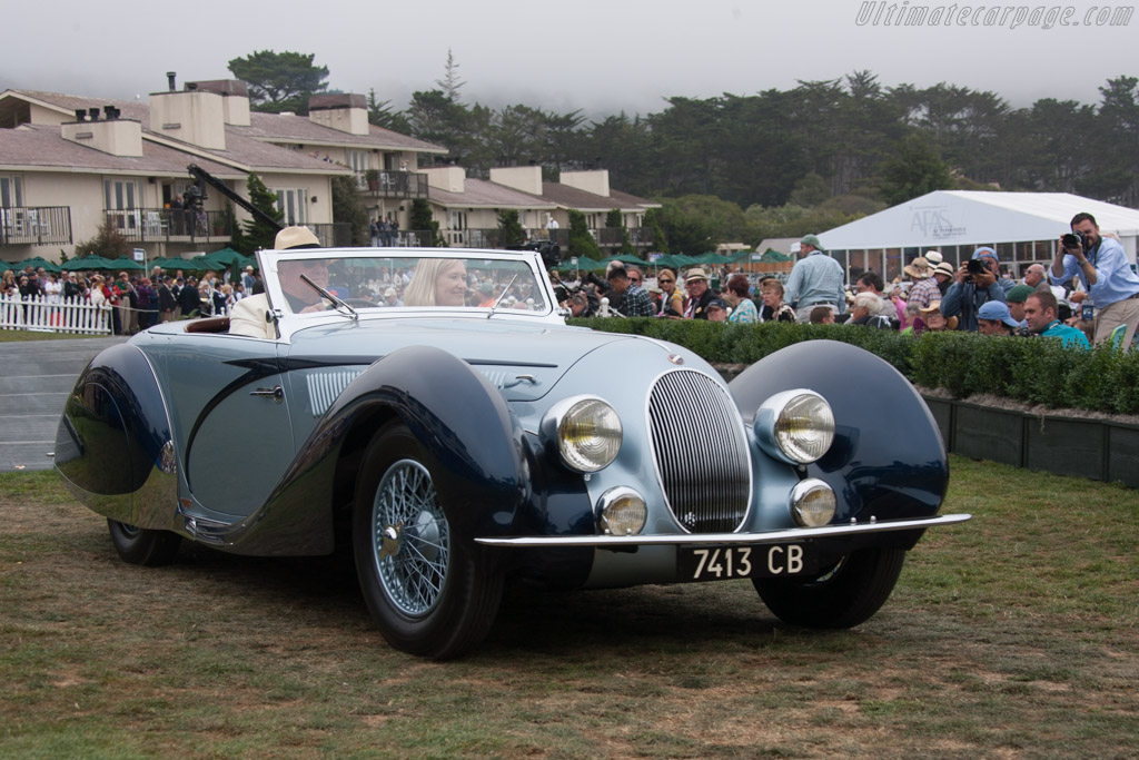 Talbot Lago T150C SS Figoni & Falaschi Cabriolet - Chassis: 90115   - 2013 Pebble Beach Concours d'Elegance