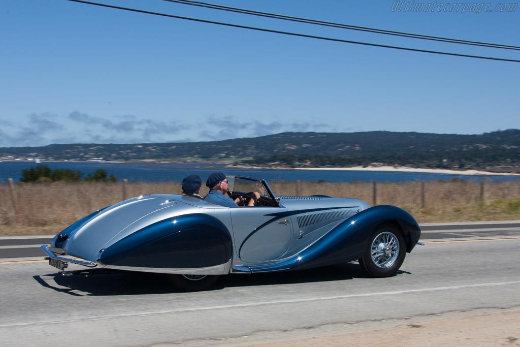 Talbot Lago T150C SS Figoni & Falaschi Cabriolet - Chassis: 90115   - 2013 Pebble Beach Concours d'Elegance