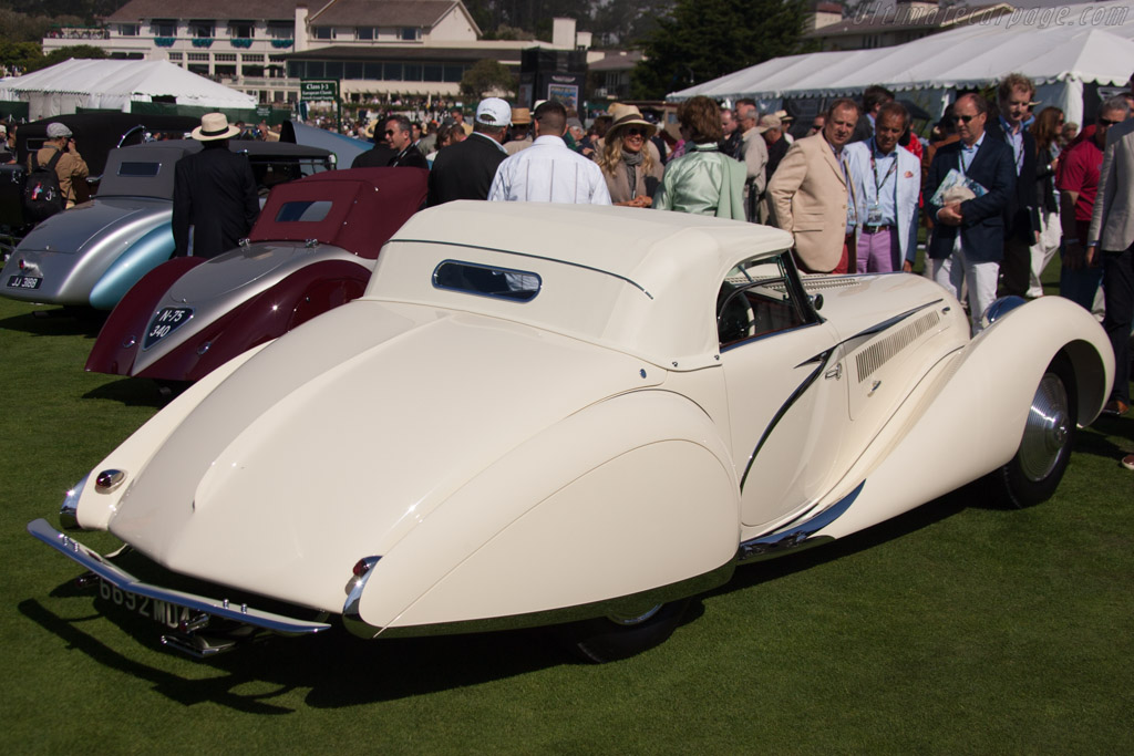 Talbot Lago T150C SS Figoni & Falaschi Cabriolet - Chassis: 90111   - 2012 Pebble Beach Concours d'Elegance