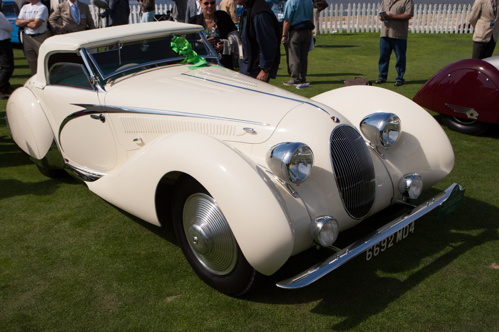 Talbot Lago T150C SS Figoni & Falaschi Cabriolet - Chassis: 90111   - 2012 Pebble Beach Concours d'Elegance