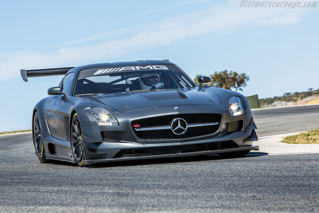 Click here to open the Mercedes-Benz SLS AMG GT3 45th Anniversary gallery