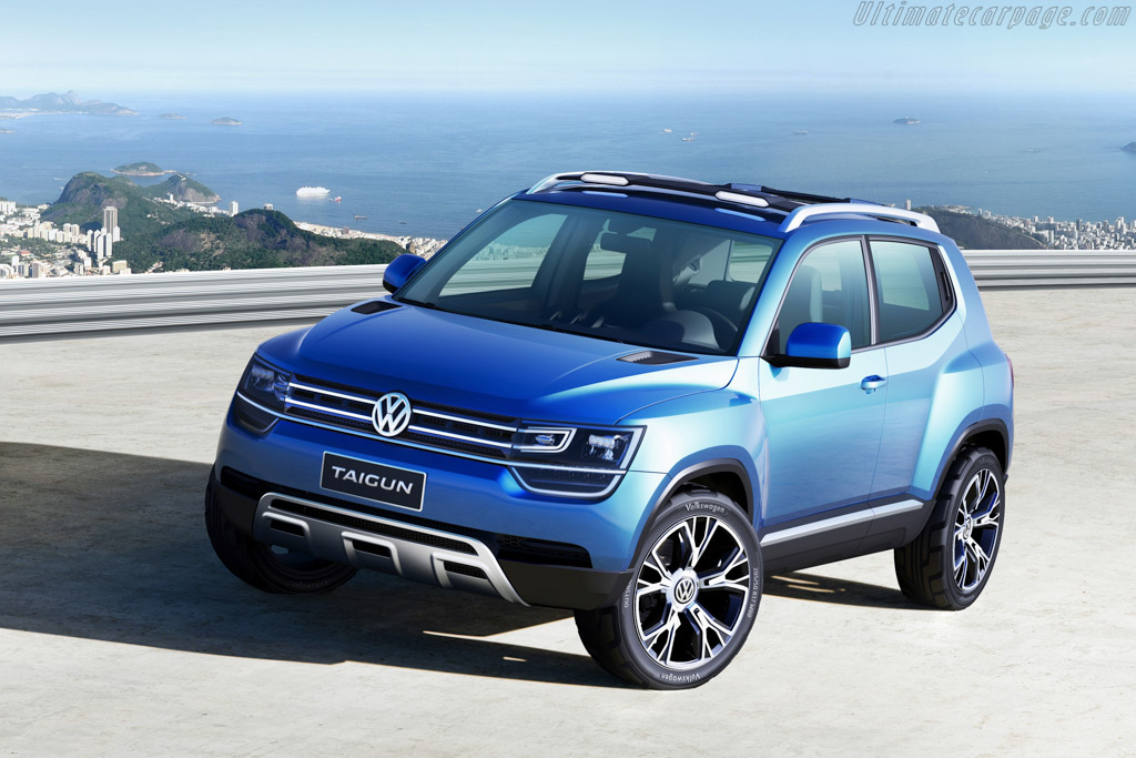 Click here to open the Volkswagen Taigun Concept gallery