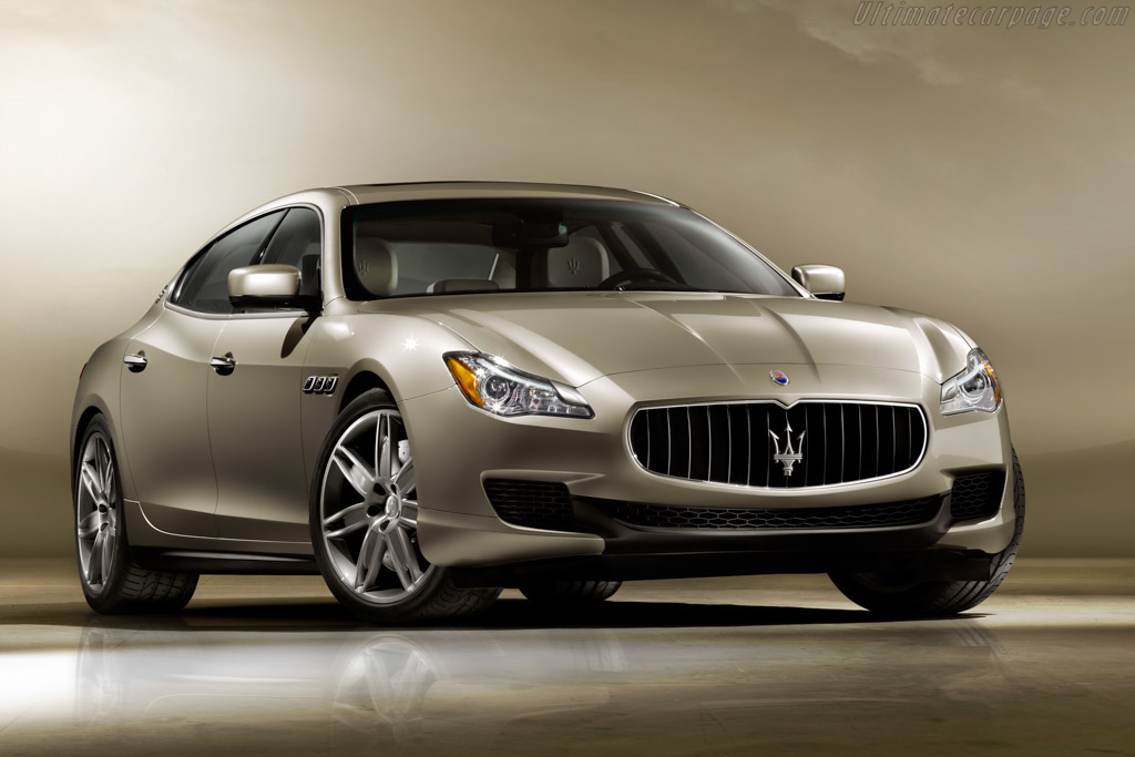 Click here to open the Maserati Quattroporte gallery