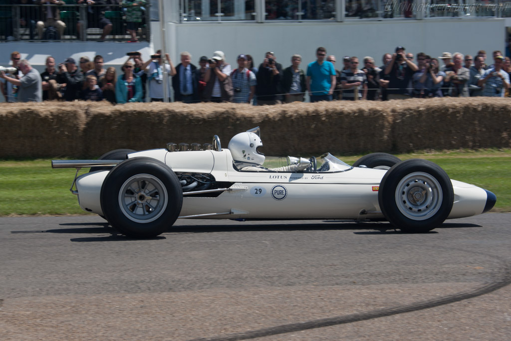 Lotus 29 Ford - Chassis: 29/2  - 2012 Goodwood Festival of Speed