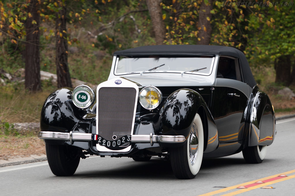 1939 Delage D8 120 S Saoutchik Cabriolet Images