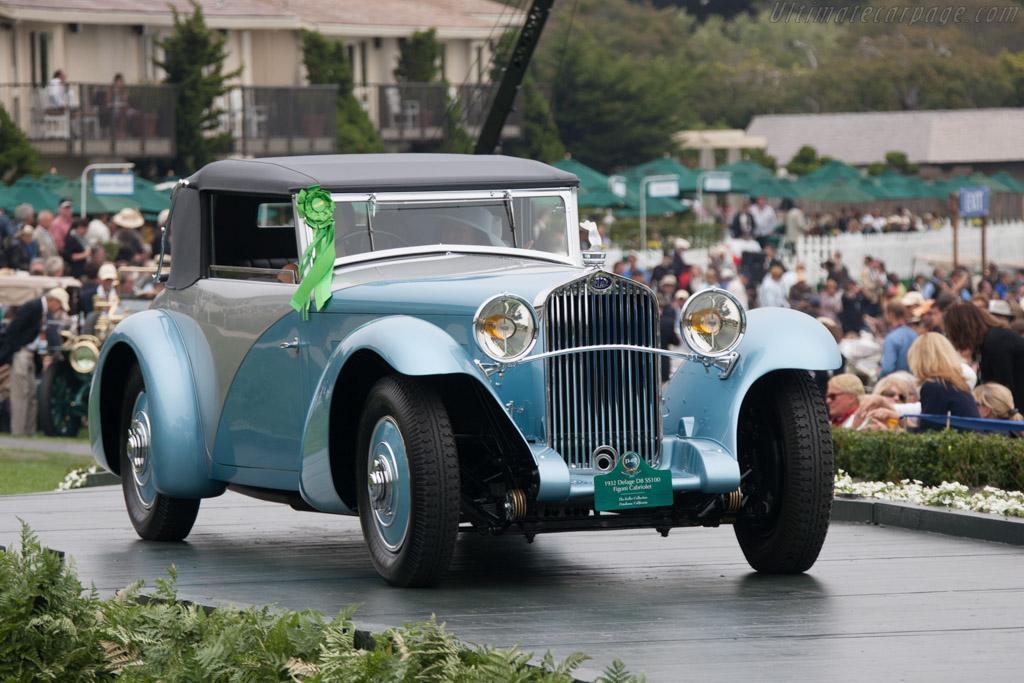 Delage D8 SS Figoni Cabriolet - Chassis: 36028   - 2012 Pebble Beach Concours d'Elegance