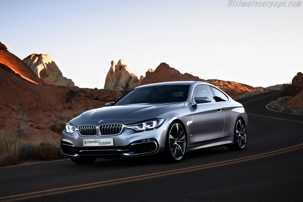 Click here to open the BMW Concept 4 Series Coupe gallery
