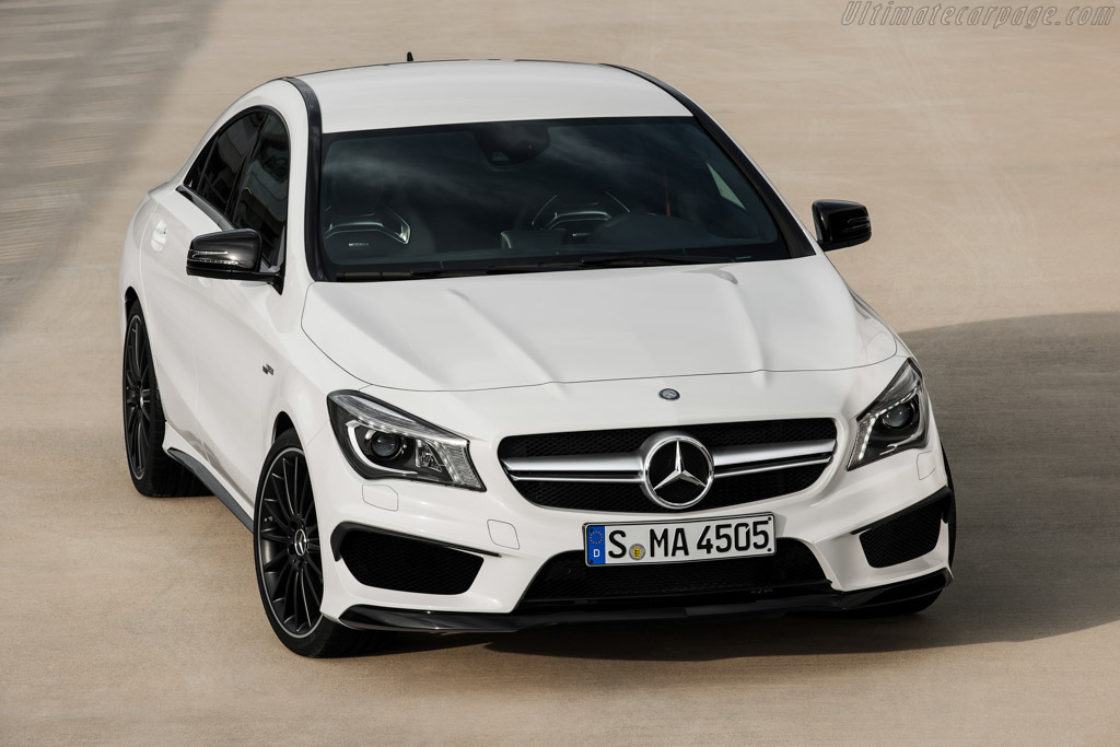 Click here to open the Mercedes-Benz CLA 45 AMG gallery