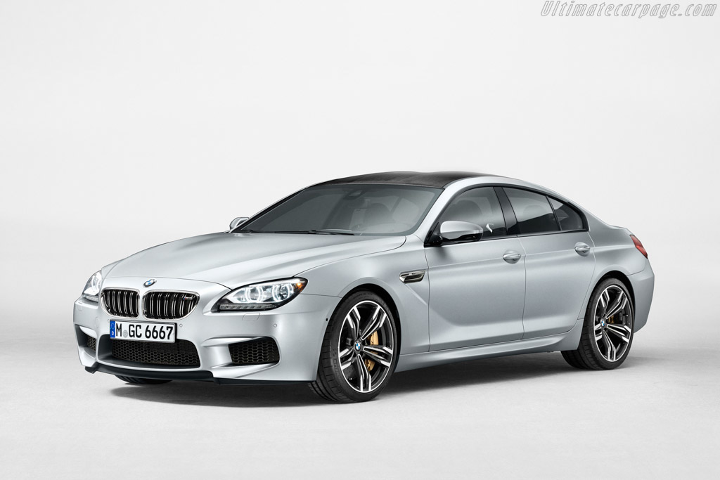 Click here to open the BMW M6 Gran Coupe gallery