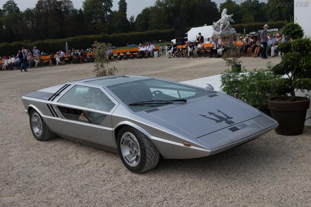 Maserati Boomerang - Chassis: 081  - 2014 Chantilly Arts & Elegance