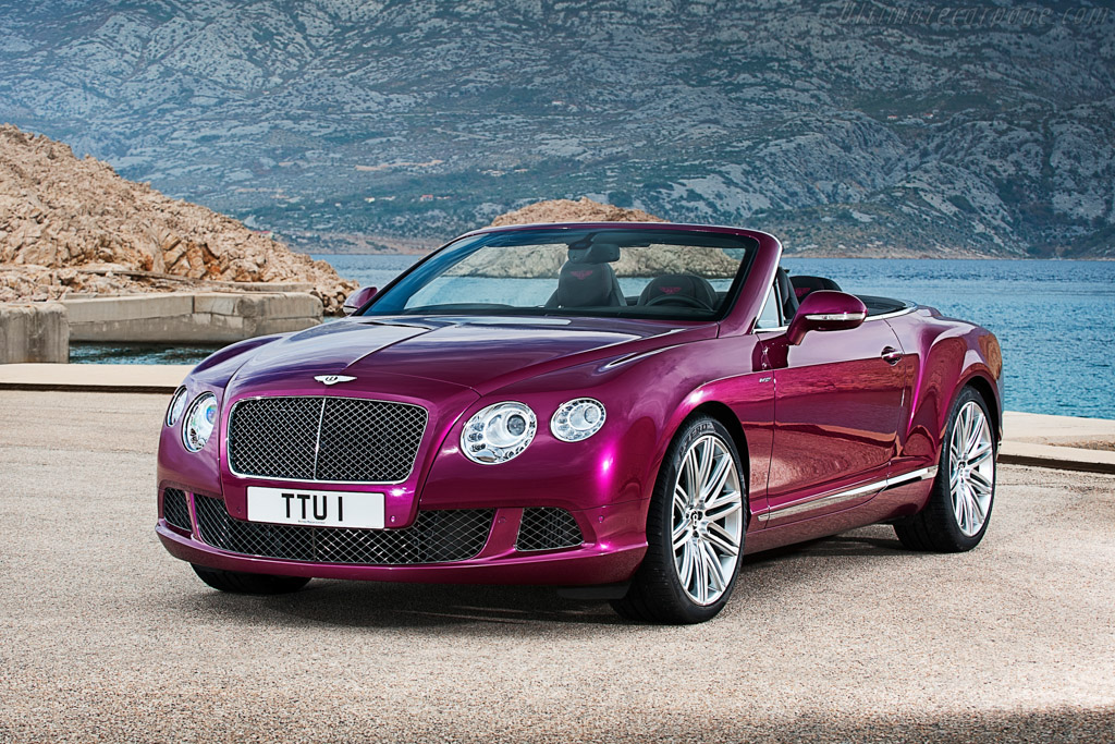 Click here to open the Bentley Continental GT Speed Convertible gallery