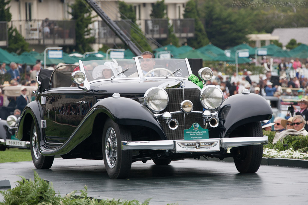 Mercedes-Benz 500 K Spezial Cabriolet A - Chassis: 130859   - 2012 Pebble Beach Concours d'Elegance