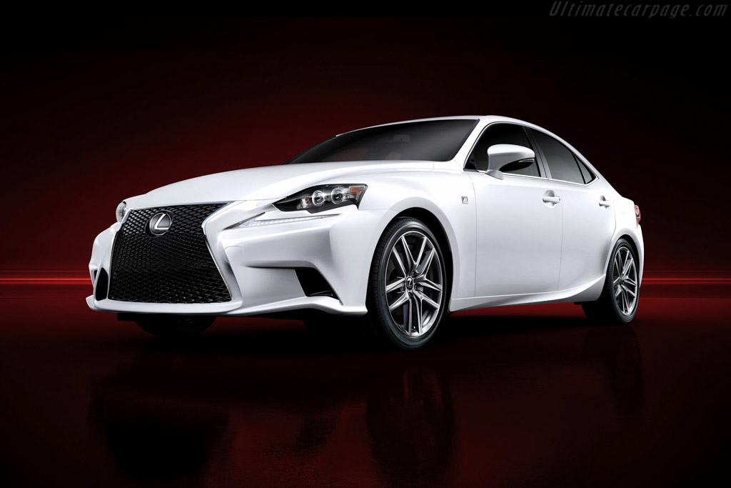 Click here to open the Lexus IS 350 F-Sport gallery