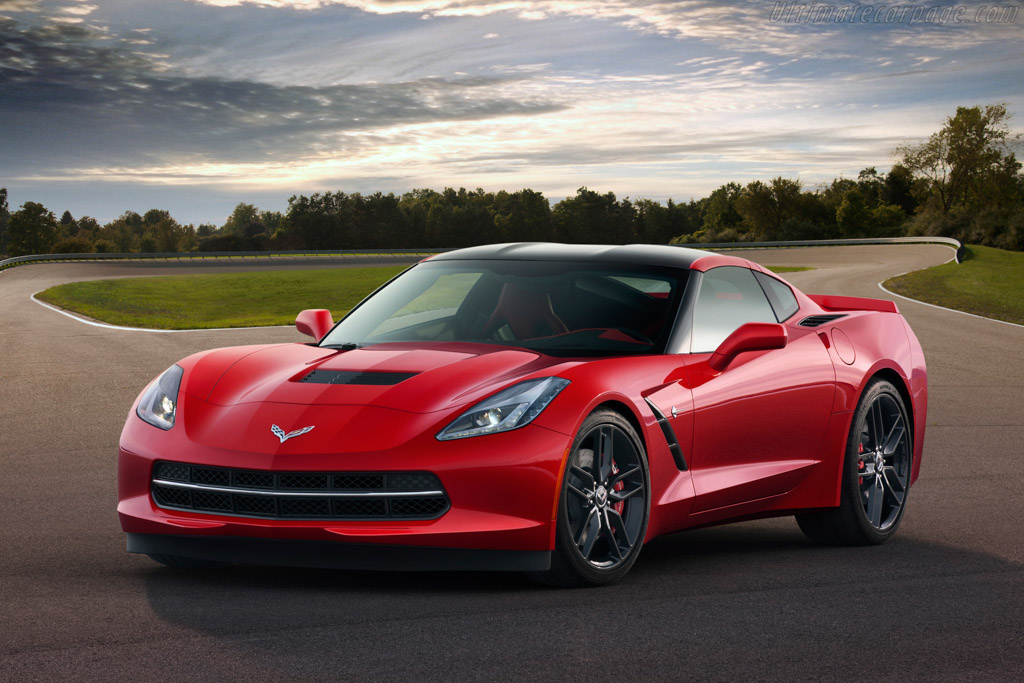 Click here to open the Chevrolet Corvette Stingray gallery