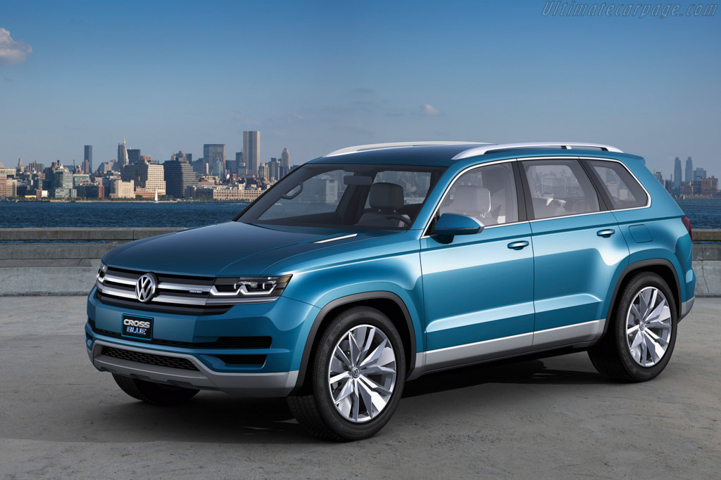 Click here to open the Volkswagen Crossblue Concept gallery