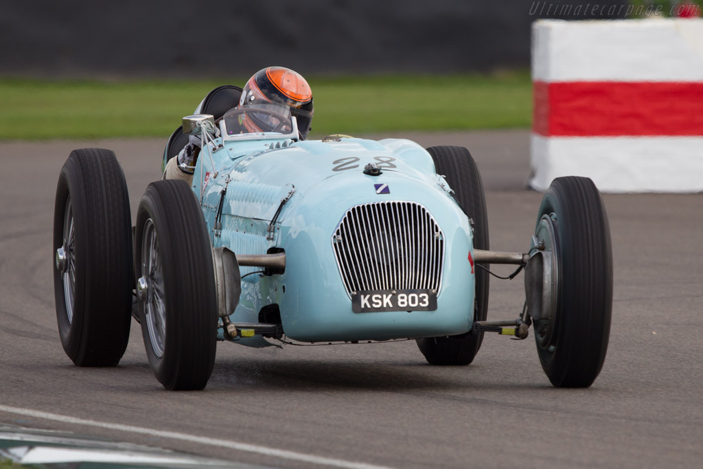 Talbot Lago T26 Monoplace Décalée - Chassis: 90130   - 2013 Goodwood Revival