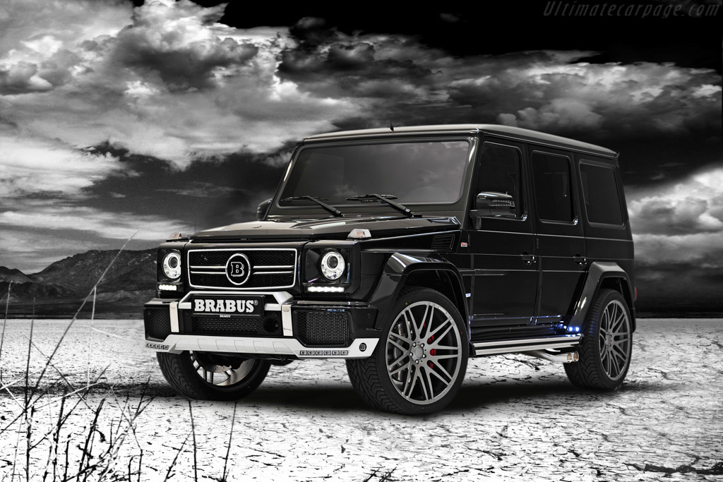 Click here to open the Brabus 800 Widestar gallery