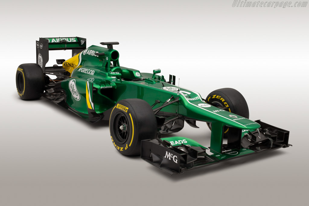 Click here to open the Caterham CT03 Renault gallery