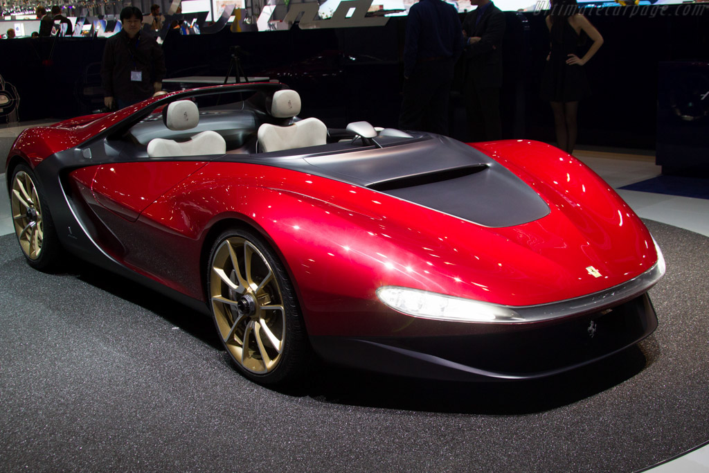 Click here to open the Ferrari Sergio Pininfarina Barchetta gallery