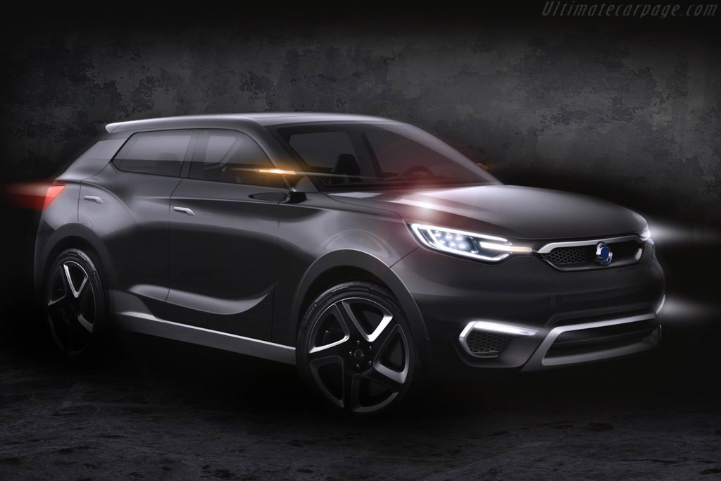 Click here to open the SsangYong SIV-1 Concept gallery