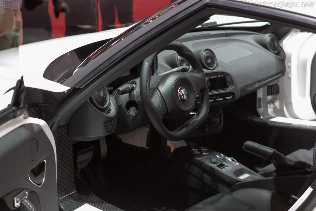 Alfa Romeo 4C    - 2013 Geneva International Motor Show