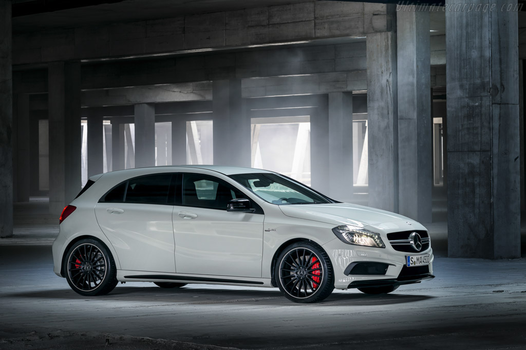 Click here to open the Mercedes-Benz A 45 AMG gallery