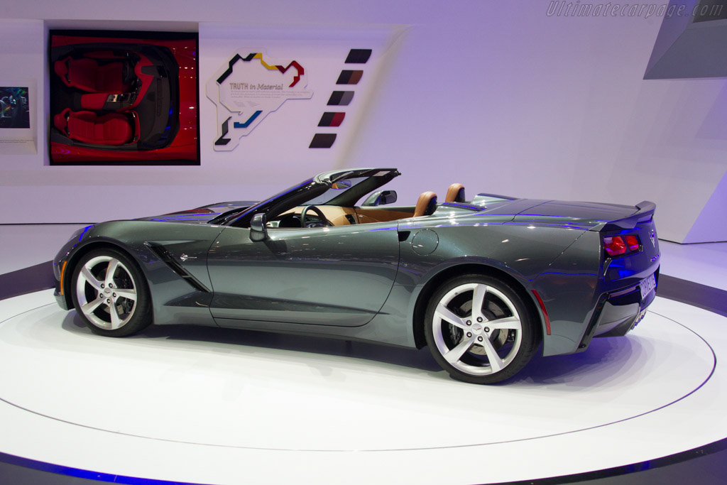 Chevrolet Corvette Stingray Convertible    - 2013 Geneva International Motor Show